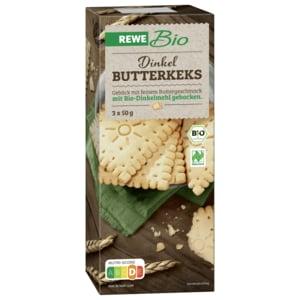 REWE Bio Dinkel-Butterkekse 150g