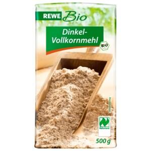 REWE Bio Dinkel-Vollkornmehl 500g