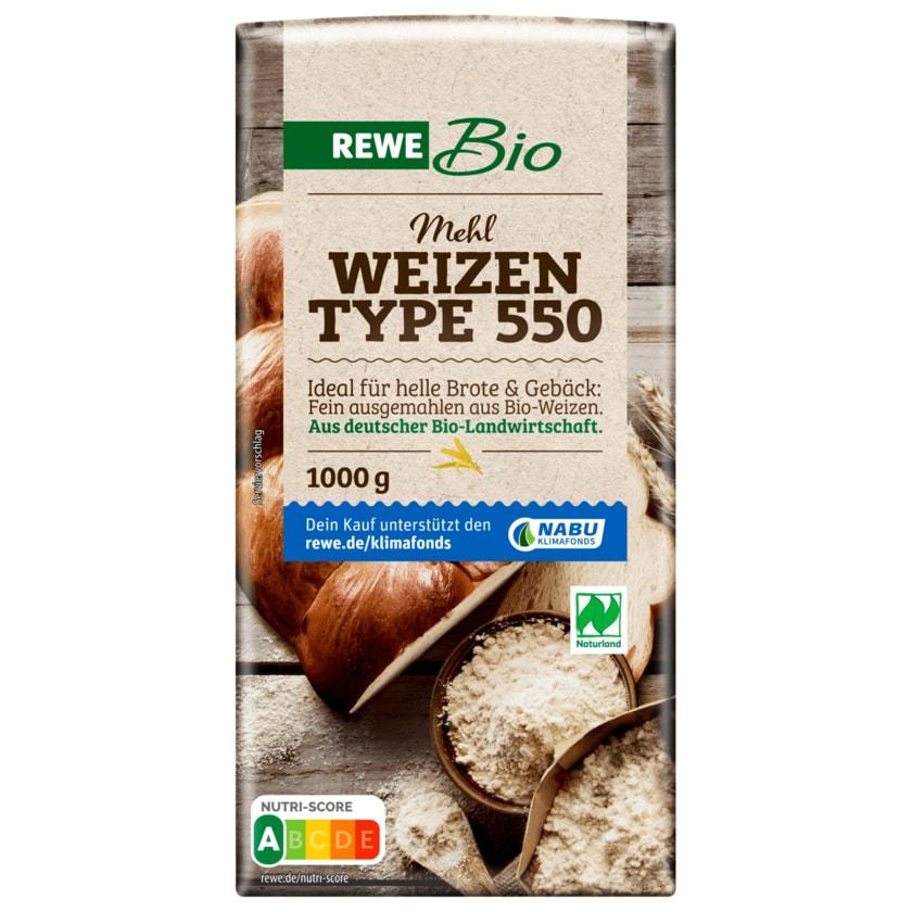 REWE Bio Weizenmehl Type 550 1kg