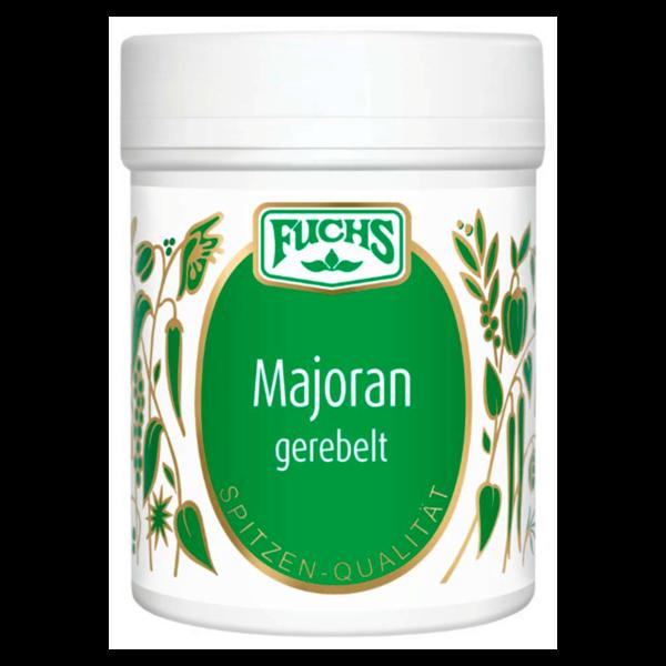 Fuchs Majoran gerebelt 8g