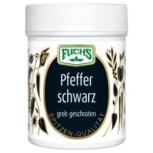 Fuchs Pfeffer schwarz geschrotet 60g