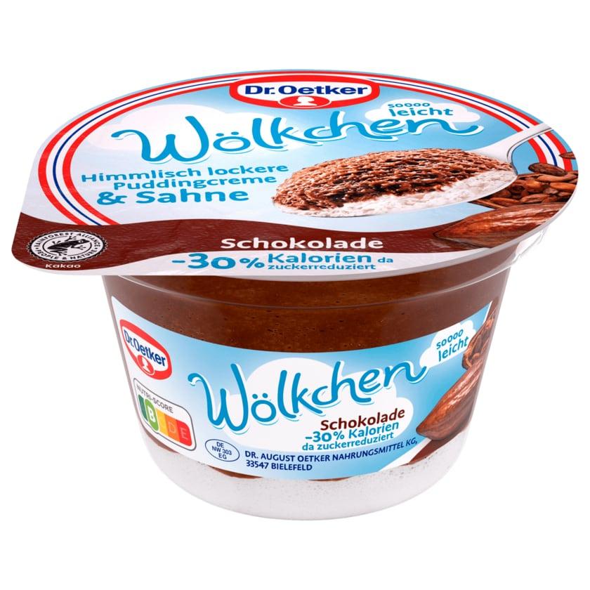 Dr. Oetker Wölkchen Schokolade 125g