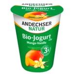 Andechser Natur Bio-Jogurt mild Mango-Vanille 400g