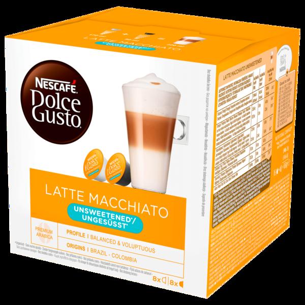 Nescafé Dolce Gusto Latte Macchiato ungesüßt 16 Kapseln