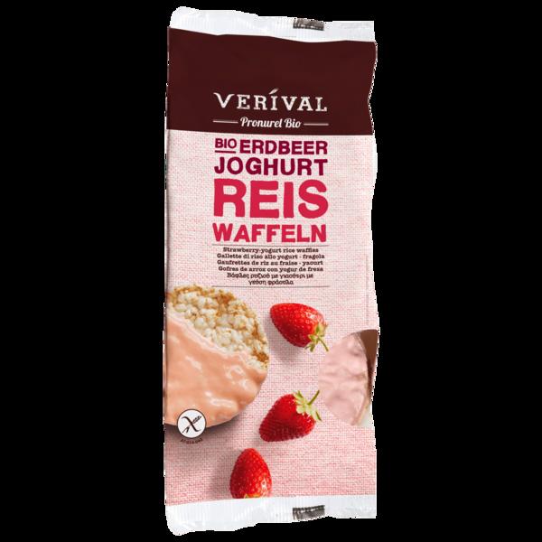 Verival Bio Erdbeer-Joghurt Reiswaffeln 100g