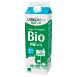 Andechser Natur Bio fettarme Milch 1,5% länger haltbar 1l