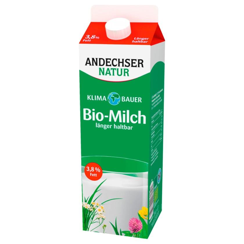 Andechser Natur Bio-Vollmilch 3,8% länger haltbar 1l