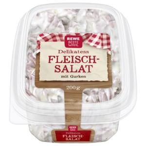 REWE Beste Wahl Delikatess-Fleischsalat mit Gurken 200g