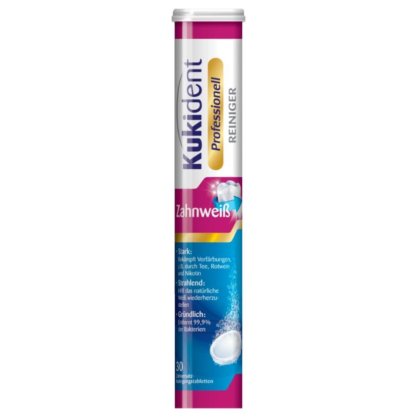 Kukident Professionell Reinigungstabletten Zahnweiß-Tabs 30 Stück