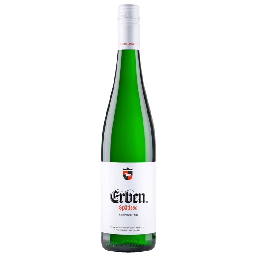 Erben Spätlese Weißwein lieblich 0,75l
