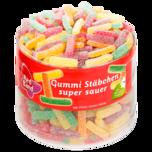 Red Band Gummi-Stäbchen super sauer 1kg