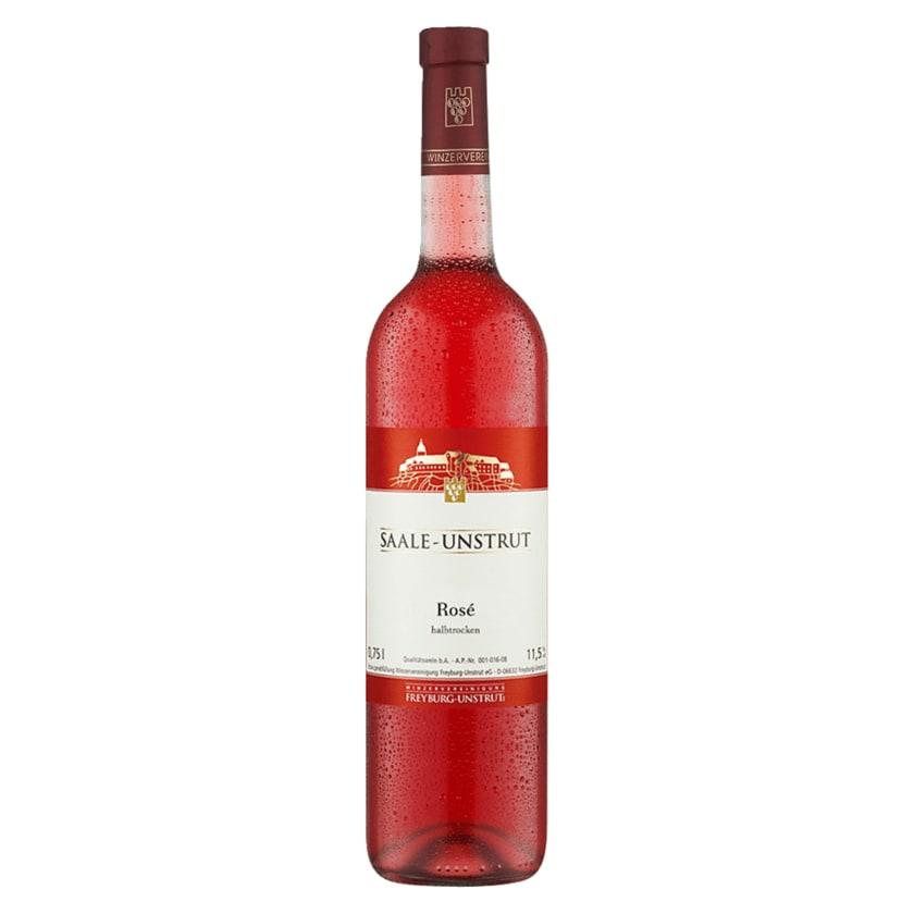WV Freyburg Saale-Unstrut Rosé halbtrocken 0,75l