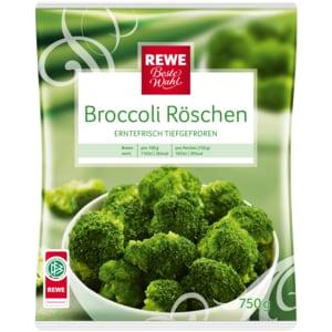 REWE Beste Wahl Broccoli-Röschen 750g