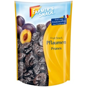 Farmer's Snack Fruit Snack Pflaumen 250g