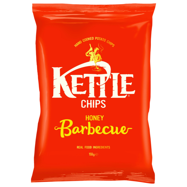 Kettle Chips Honey Barbecue 150g