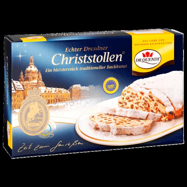 Dr. Quendt Echter Dresdner Christstollen 1000g