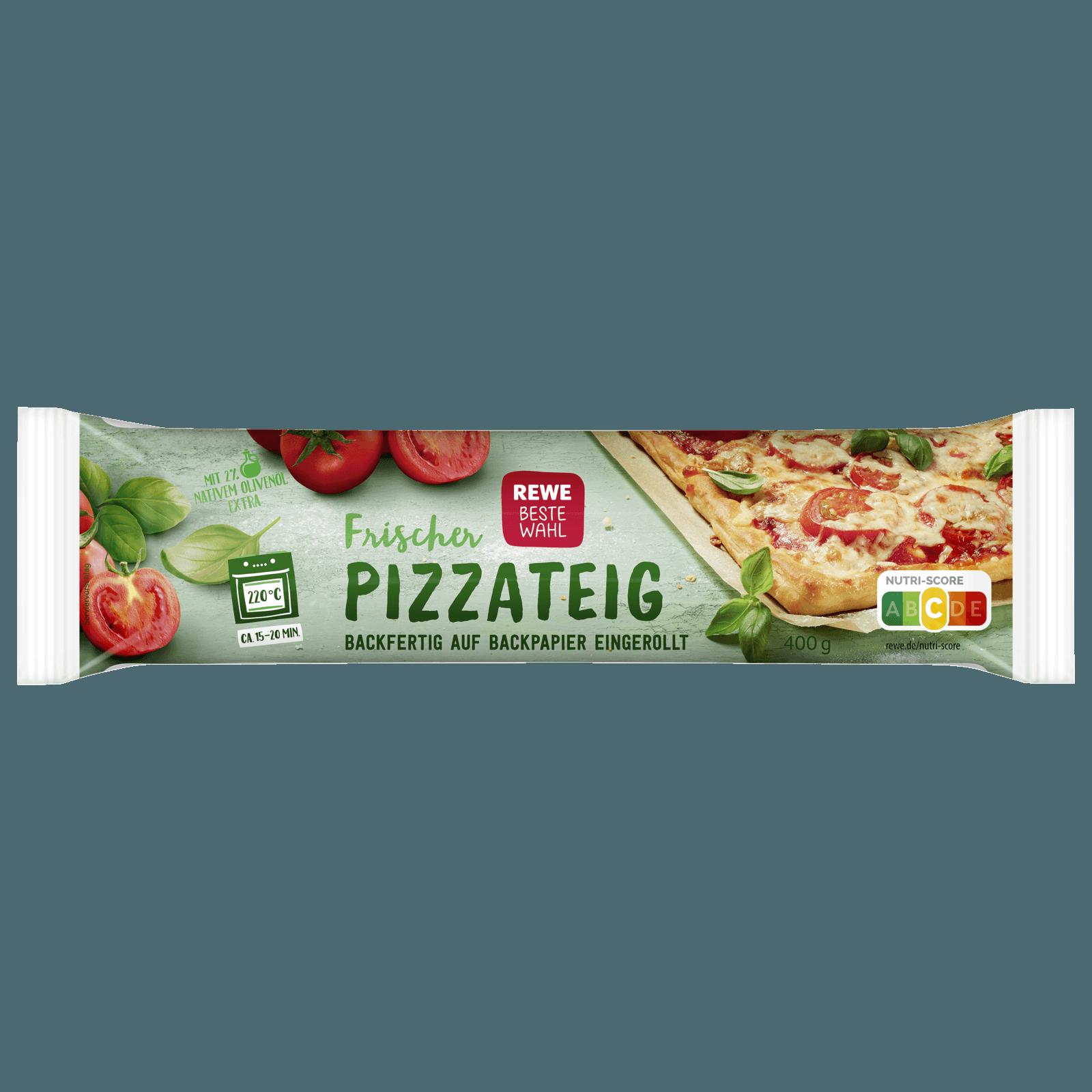 REWE Beste Wahl Frischer Pizzateig 400g bei REWE online