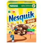Nestlé Nesquik Duo braune und weiße Schoko Cerealien mit Vollkorn 325g