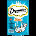 Dreamies mit schmackhaftem Lachs 60g