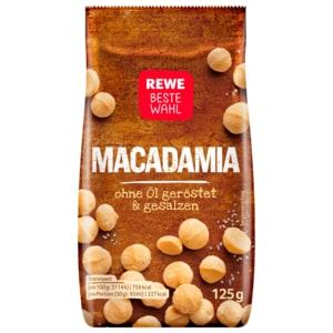 REWE Beste Wahl Macadamia 125g