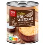 REWE Beste Wahl Mildes Weinsauerkraut 770g