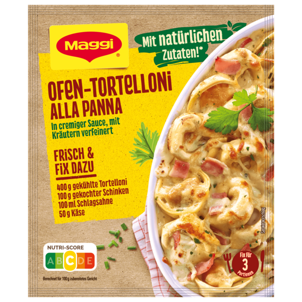 Maggi Fix für Ofen - Tortelloni alla Panna 36g