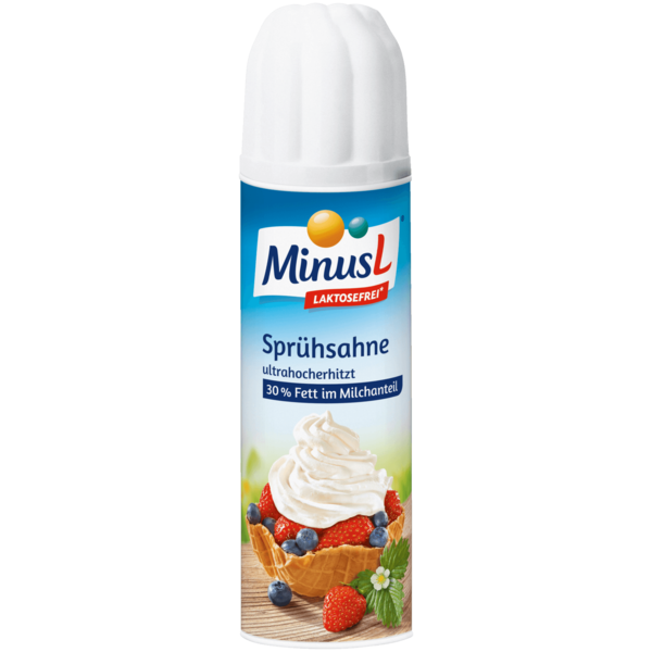 MinusL Sprühsahne 250g