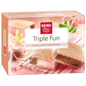 REWE Beste Wahl Triple Fun 100ml, 8 Stück
