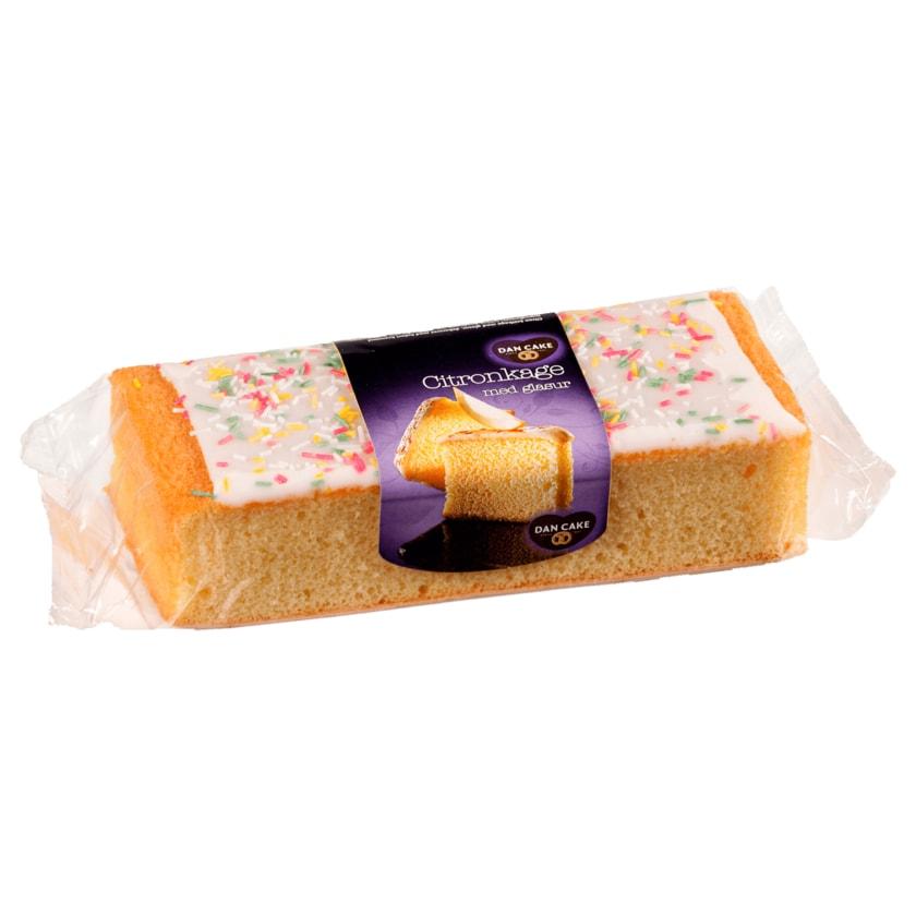 Dan Cake Schnittkuchen Zitrone mit Glasur 350g