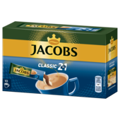 Jacobs 2 in 1 140g, 10 Sticks