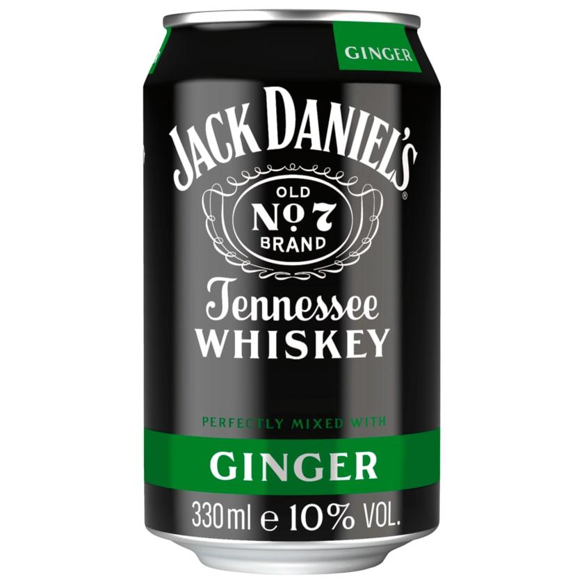 Jack Daniel's Whisky und Gingerale 0,33l
