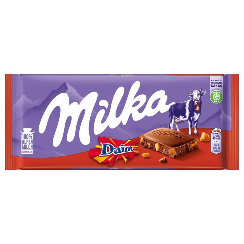 Milka Schokolade Daim 100g