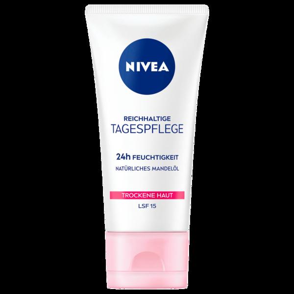 Nivea Reichhaltige Tagespflege für trockene und sensible Haut 50ml