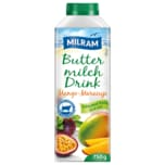 Milram Buttermilch-Drink Mango-Maracuja 750g