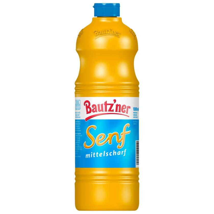 Bautz'ner Mittelscharfer Senf 1l