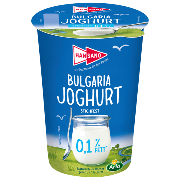 Hansano Bulgaria Joghurt 0,1% 500g