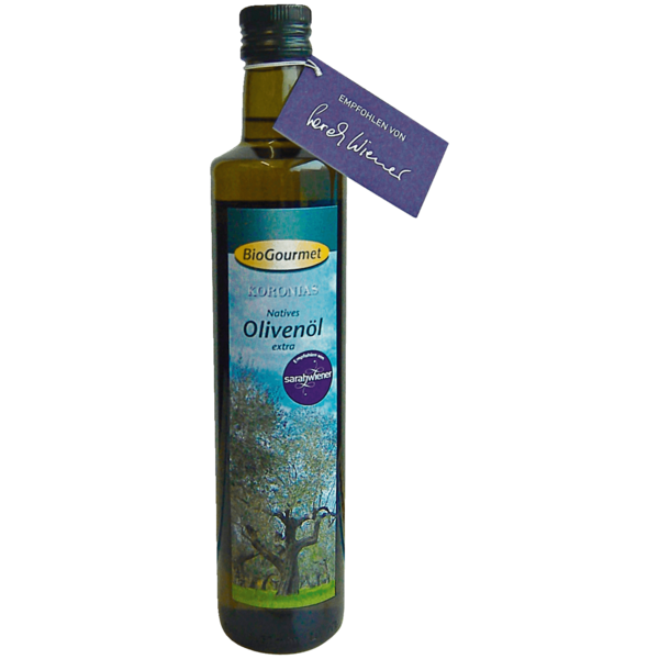 BioGourmet Koronias griechisches Olivenöl 500ml