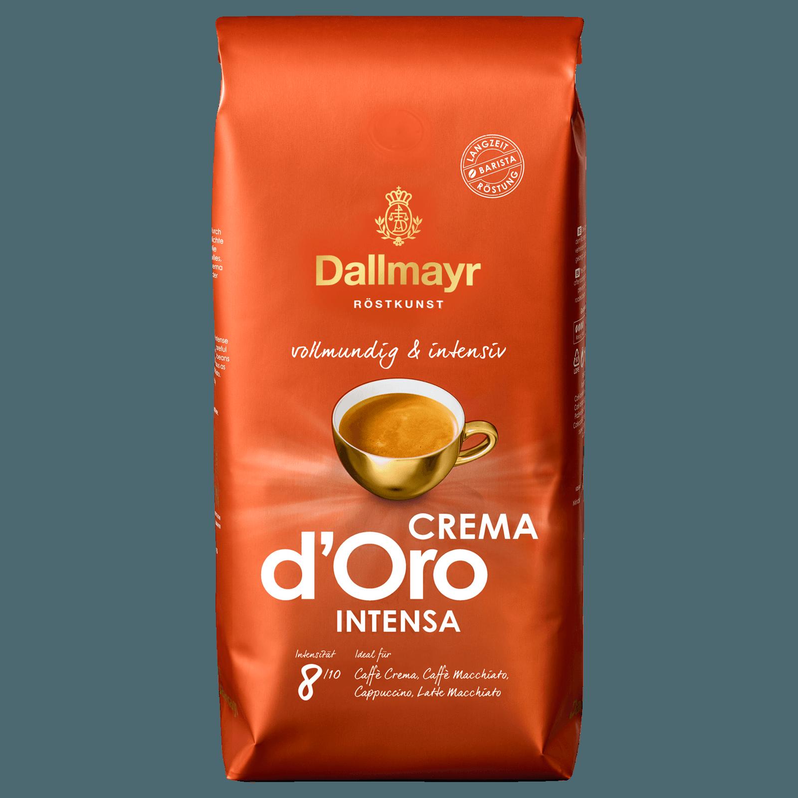 Dallmayr Crema d'Oro intensa ganze Bohnen 1kg