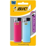Bic Feuerzeug Electronic 2 Stück