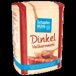 Schapfen Mühle Dinkel-Vollkornmehl 1kg