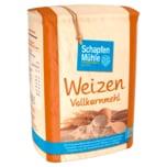 Schapfen Mühle Weizenvollkornmehl 1kg