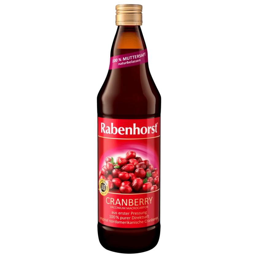 Rabenhorst Muttersaft Cranberry 0,7l