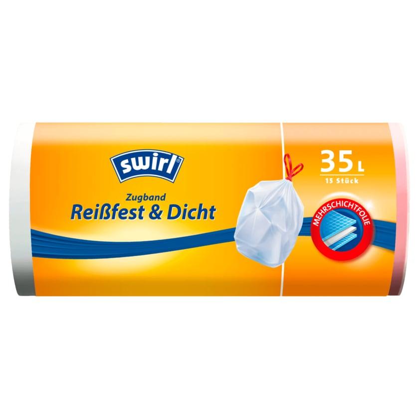 Swirl Zugband-Müllbeutel 35l, 15 Stück