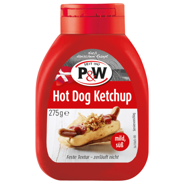 P&W Hot-Dog-Ketchup 255ml