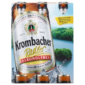 Krombacher Radler alkoholfrei 6x0,33l