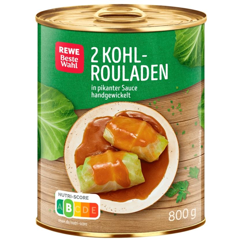 REWE Beste Wahl Kohlrouladen 800g