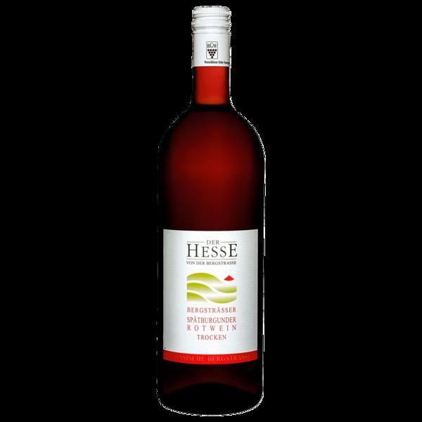 Der Hesse von der Bergstrasse Rotwein Spätburgunder trocken 1l