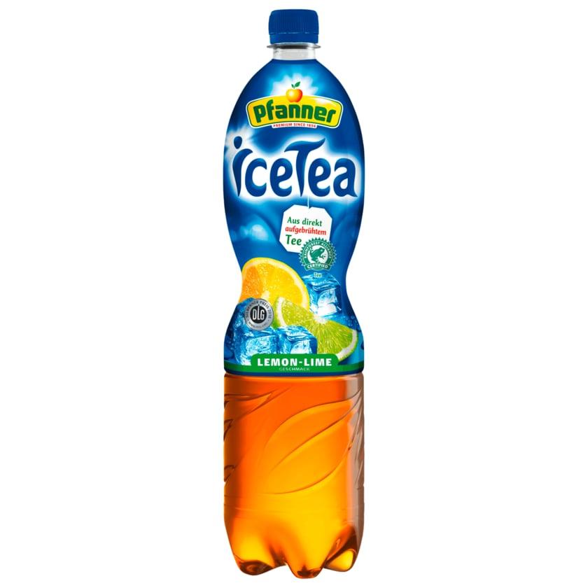 Pfanner Icetea Lemon-Lime 1,5l