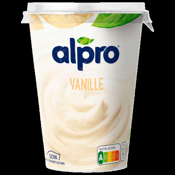 Alpro Soja-Joghurtalternative Vanille vegan 500g