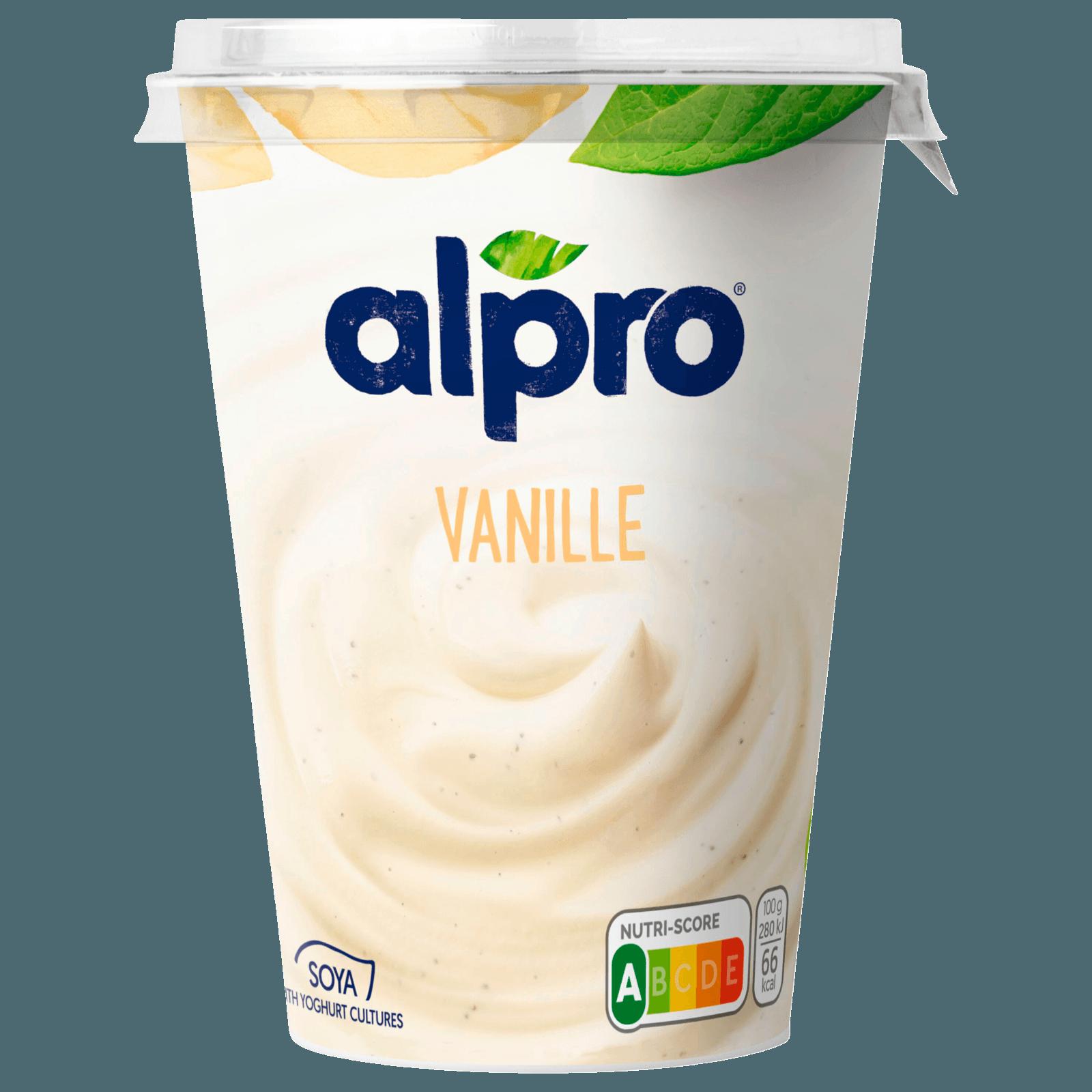 Alpro Soja-Joghurtalternative Vanille 500g